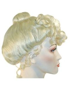Lacey Mrs Doubtfire Costume Wig VogueWigs Mrs Claus Wigs