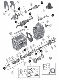 1000+ images about Jeep Transmission Parts on Pinterest