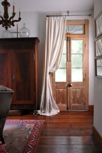 1000+ ideas about Sidelight Curtains on Pinterest | Door ...