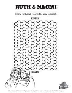 Samuel Bible Story Sunday School Crossword Puzzles: This