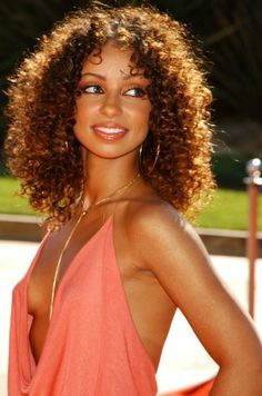 Mya Harrison Ringlet Curls Fab Hair❤ Pinterest Curlss
