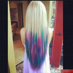 1000 images about mechas californianas on pinterest dip dyed hair blue dip dye and light