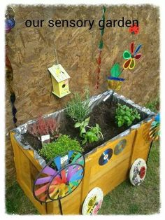Sensory Integration In A Fully Accessible Garden Lovely! By
