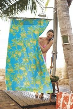 Captivating Outdoor Shower Curtains Intended For Outdoor Shower Curtain