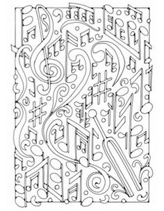 Coloring pages, Piano and Free coloring pages on Pinterest