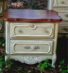 1000 images about Chalk Painted End Tables on Pinterest