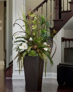FEJKA Artificial Potted Plant Grass Artificial Plants Offices