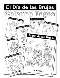 Spanish Halloween Puzzle Pack (Día de las Brujas, Noche