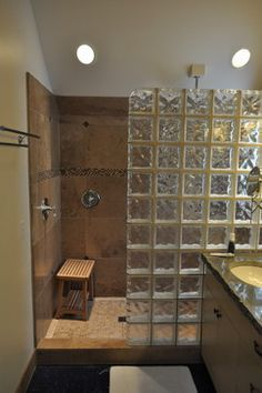 1000 images about Bathrooms on Pinterest  Brick bathroom