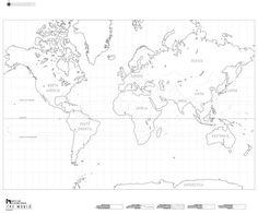 Doing a global presentation? Use this free printable blank