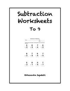 Subtraction worksheets, Addition worksheets and Children