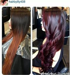 Black Cherry Hair Color Ideas