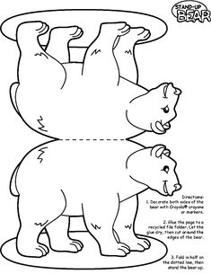 ABC Polar Bear dot to dot activity available at www