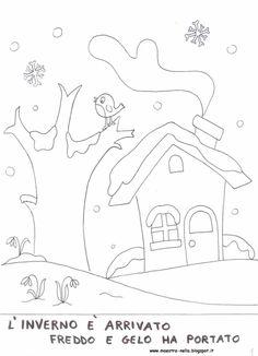 A Scuola con Poldo: SCHEDE INVERNO: I DISCORSI E LE PAROLE