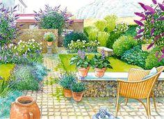 Ideen Für Den Reihenhaus Vorgarten Garten