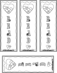 Printable Summer Bookmarks Printable Summer Bookmarks for