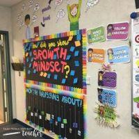 Growth Mindset Door Decoration for school! | School Ideas ...