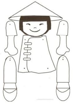 Vietnam for Kids! Free crafts, coloring pages, puzzles