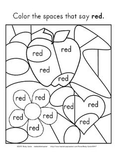 1000+ images about Kindergarten Sight Words on Pinterest
