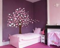 Madelines Room Ideas on Pinterest | Butterfly Stencil ...