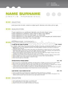 1000 Images About Resume On Pinterest Professional
