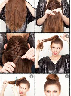 How To Make Ballet Hair Bun Step4 Ballet Pinterest Buns