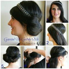 1920s Hairstyles For Long Hair Roaring Twenties Fashion