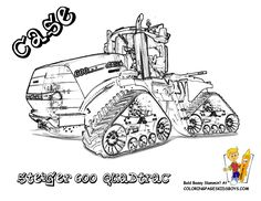 John Deere 8430 Tractor Coloring Page. You Can Print Out