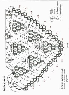 1000+ images about Crochet: Diagrams shawls on Pinterest