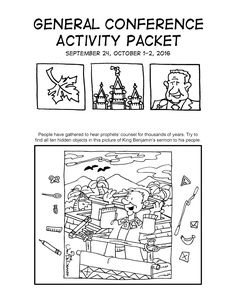 Conference Coloring page 2