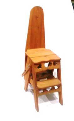 Chair Ladder Ironing Board