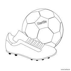 Das #Trikot der #DFB-Mannschaft. Mit diesem #Ausmalbild