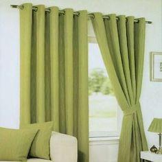 Light Green Curtains