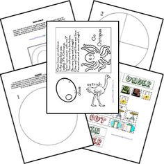 Preschool printables, Writing centers and Words on Pinterest