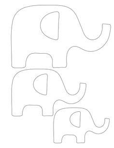 1000+ ideas about Elephant Template on Pinterest