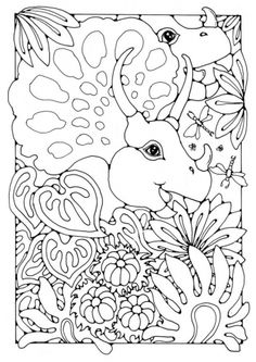 1000+ images about Coloring Pages Dinosaurs Dragons on