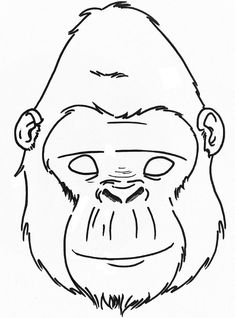 Free Vector Graphic: Silhouette, Ape, Gorilla, Animal