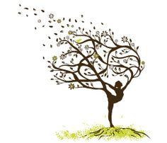 20 Tree Pose Tattoos Ideas And Designs