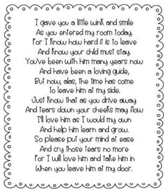 1000+ ideas about First Day Poem on Pinterest