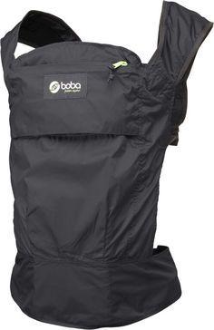 boba air mochila portabebes modelo negro ideal para el verano y para llevartela de