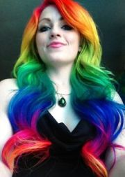 neon unicorn rainbow guy tang