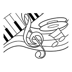 Top 25 Free Printable Guitar Coloring Pages Online