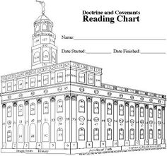Doctrine and Covenants Reading Chart FREE Printable