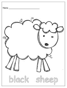 Elementary sheep Nomenclature: includes 16 parts of the