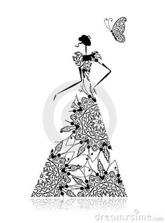 1000+ images about Zentangle fashion on Pinterest