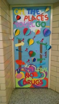 Red Ribbon Week door