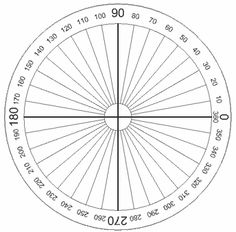 30-degree reference angle radian measure through one