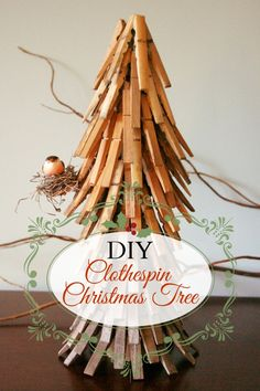 DIY Clothespin Chris