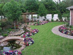 Large Yard Landscaping Ideas Backyard Garden Ideas Design