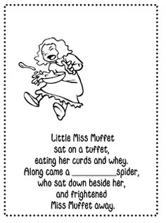 1000+ images about Little Miss Muffet on Pinterest